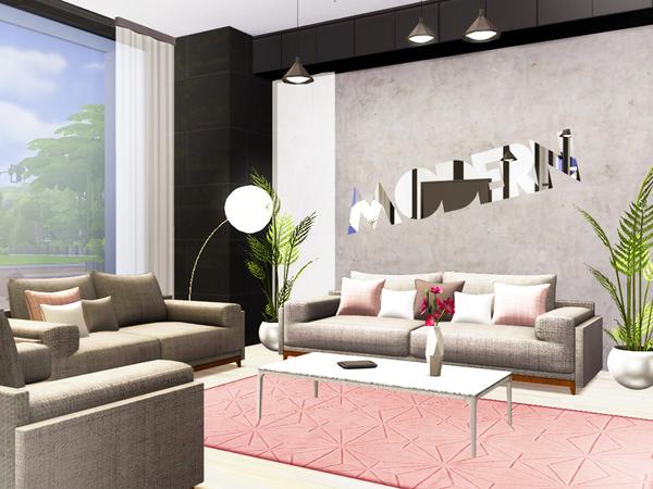 Ieuan contemporary house by Rirann at TSR image 230 Sims 4 Updates