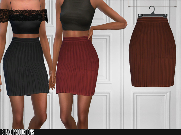 Sims 4 151 Skirt by ShakeProductions at TSR