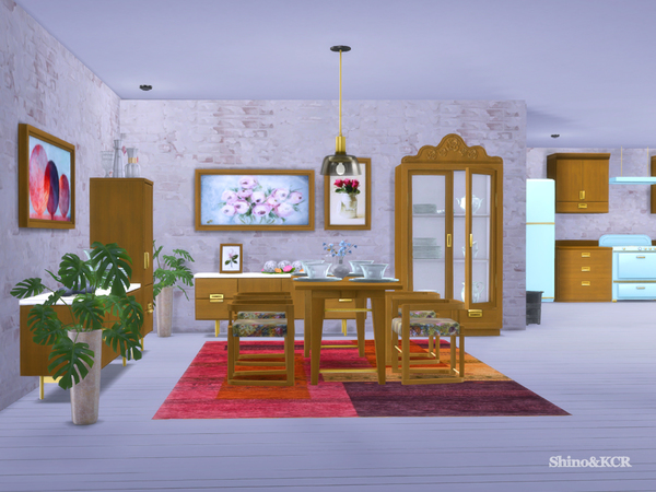 Dining Delight by ShinoKCR at TSR image 2313 Sims 4 Updates
