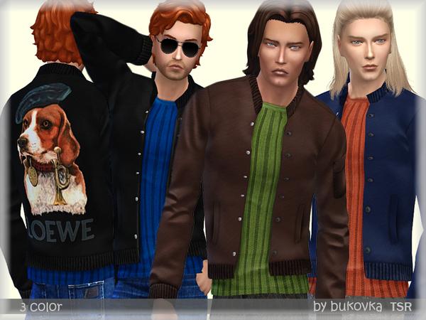 Bomber Jacket by bukovka at TSR image 2321 Sims 4 Updates
