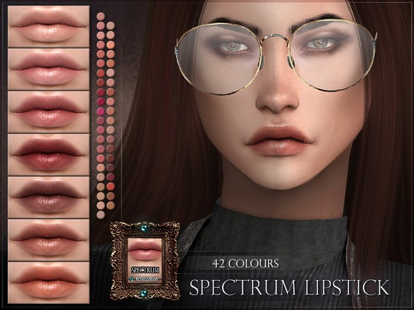 Spectrum Lipstick by RemusSirion at TSR image 235 Sims 4 Updates
