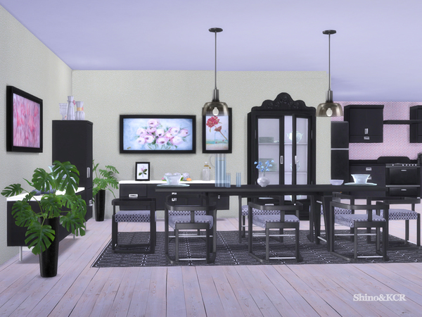 Dining Delight by ShinoKCR at TSR image 2413 Sims 4 Updates