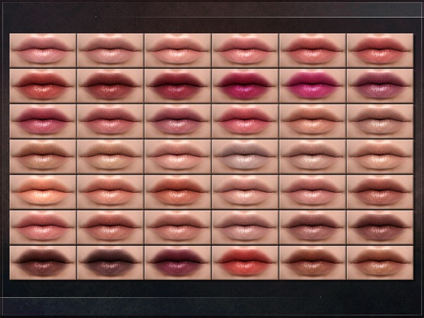 Spectrum Lipstick by RemusSirion at TSR image 245 Sims 4 Updates