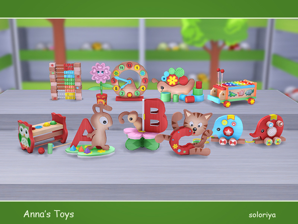 Annas Toys by soloriya at TSR image 2451 Sims 4 Updates
