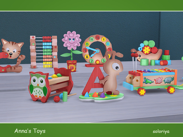 Annas Toys by soloriya at TSR image 2461 Sims 4 Updates