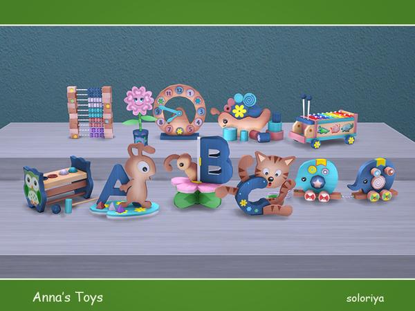 Sims 4 Annas Toys by soloriya at TSR