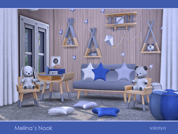 Melinas Nook set by soloriya at TSR image 2516 Sims 4 Updates