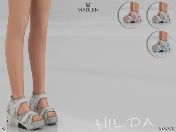 Sims 4 Madlen Hilda Shoes by MJ95 at TSR