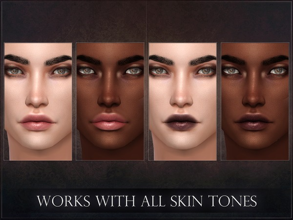 Spectrum Lipstick by RemusSirion at TSR image 255 Sims 4 Updates
