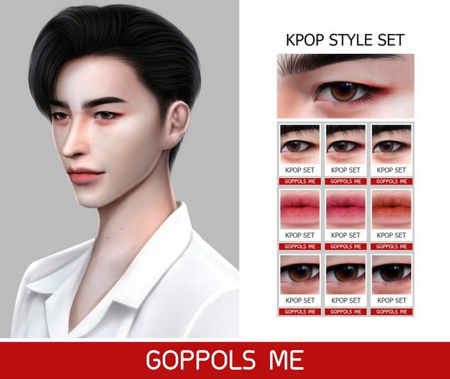 Kpop Style Set at GOPPOLS Me » Sims 4 UpdatesKorean Toddler Hair Sims 4