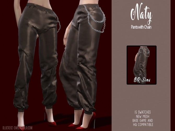 Naty pants by Liseth Barquero at BlueRose Sims image 2612 670x503 Sims 4 Updates