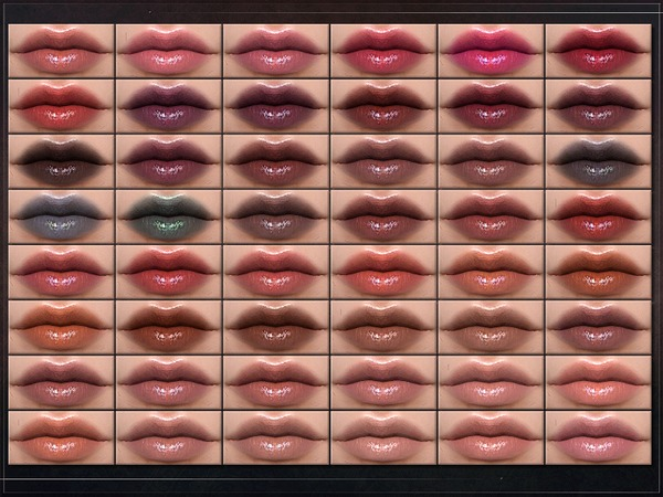 Sims 4 Brassica Lipstick by RemusSirion at TSR