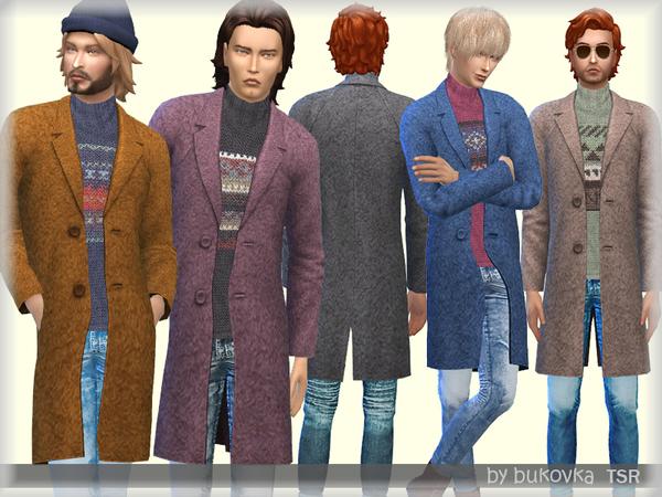 Coat M by bukovka at TSR image 266 Sims 4 Updates