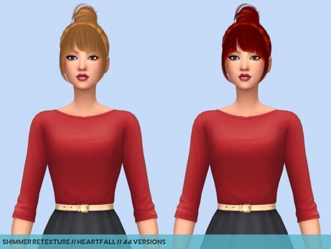 Hair retextures at Heartfall image 2691 670x503 Sims 4 Updates