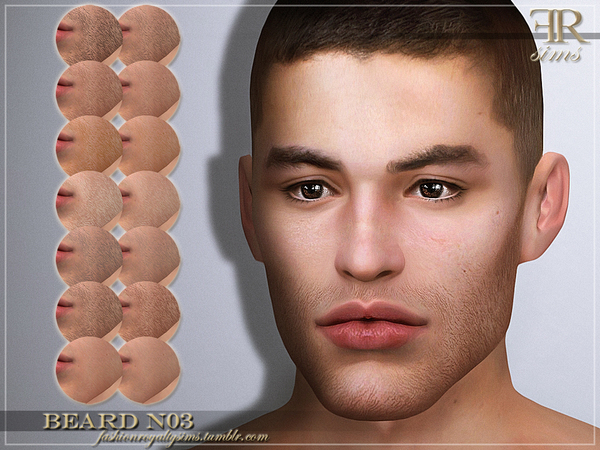 FRS Beard N03 by FashionRoyaltySims at TSR image 27 Sims 4 Updates