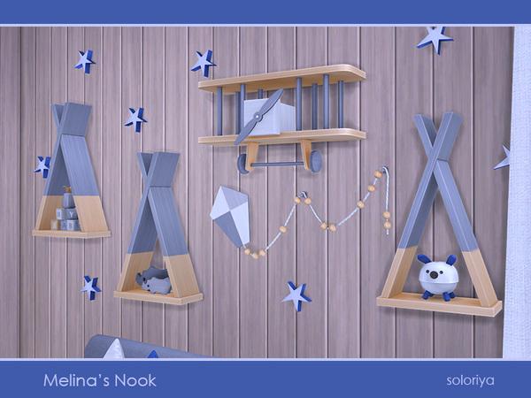 Melinas Nook set by soloriya at TSR image 2716 Sims 4 Updates