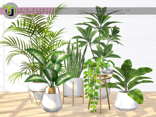 Erin Plants by NynaeveDesign at TSR image 2720 Sims 4 Updates
