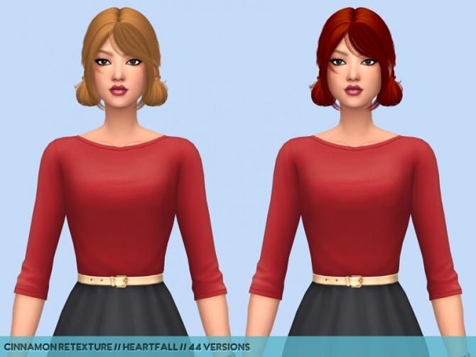 Hair retextures at Heartfall image 2722 670x503 Sims 4 Updates