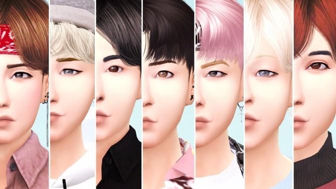Sims 4 BTS as Sims at Akai Sims – kaibellvert