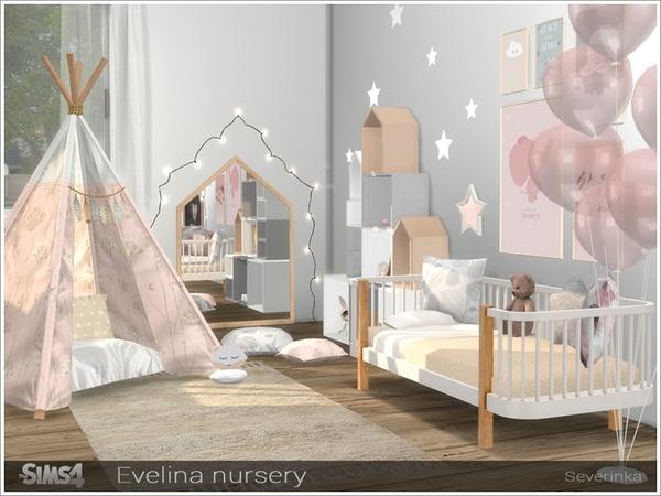 Evelina nursery by Severinka at TSR image 281 Sims 4 Updates