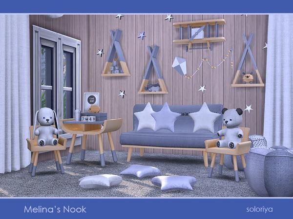 Melinas Nook set by soloriya at TSR image 2816 Sims 4 Updates