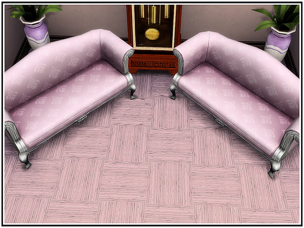 Sims 4 Handscraped Parquetry Flooring by marcorse at TSR