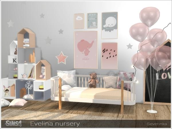 Evelina nursery by Severinka at TSR image 291 Sims 4 Updates