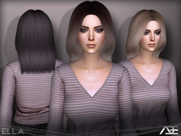 Ella hair by Ade Darma at TSR image 2911 Sims 4 Updates