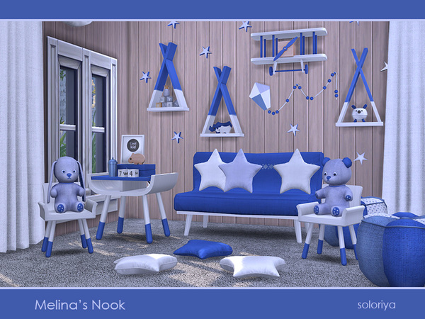 Melinas Nook set by soloriya at TSR image 2916 Sims 4 Updates