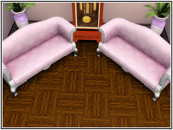 Handscraped Parquetry Flooring by marcorse at TSR image 2917 Sims 4 Updates