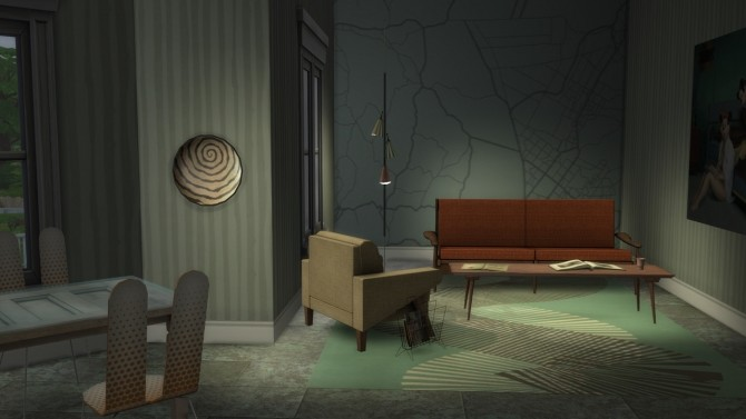 Sims 4 Map Wall Mural at b5Studio