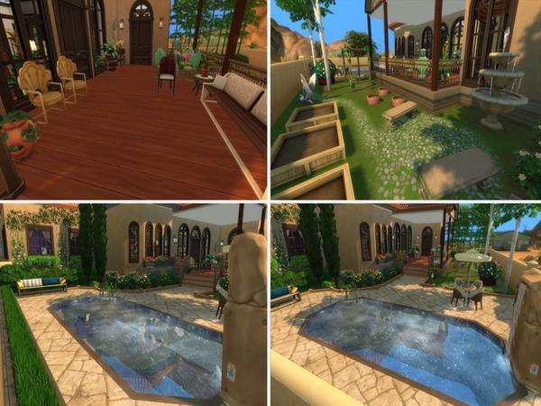 Sims 4 Villa Sogno by staralien at TSR