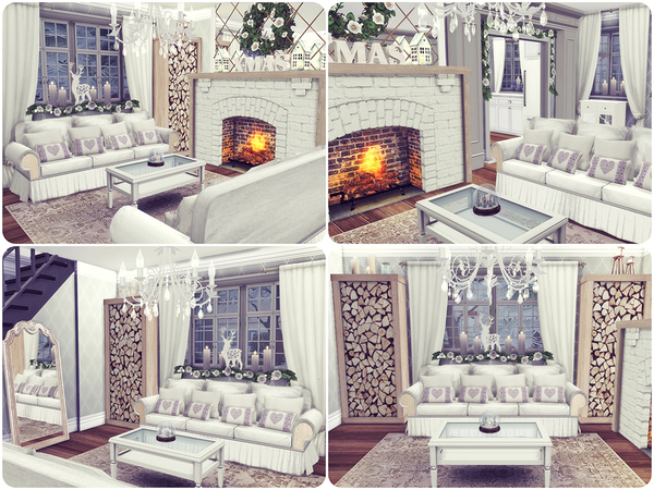 Sims 4 Perfect Winter house by Sooky at TSR