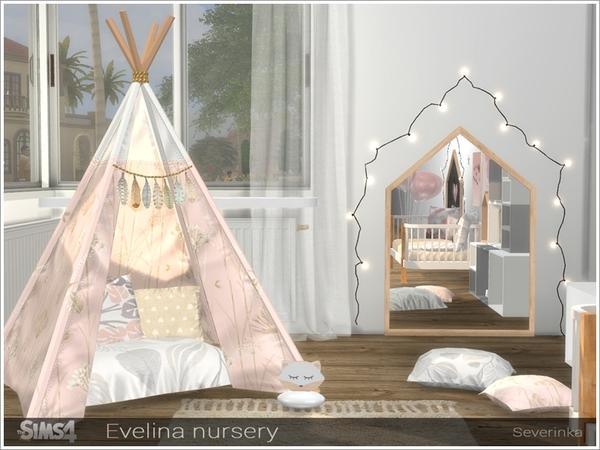 Evelina nursery by Severinka at TSR image 301 Sims 4 Updates