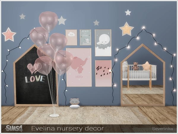 Evelina nursery decor by Severinka at TSR image 305 Sims 4 Updates