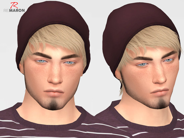 Sims 4 Psycho Hair Retexture by remaron at TSR