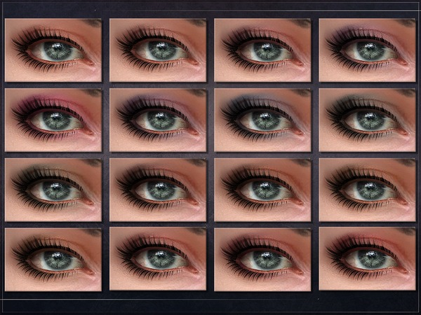 Sims 4 Cerebral Eyeshadow by RemusSirion at TSR