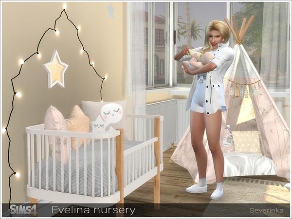 Evelina nursery by Severinka at TSR image 311 Sims 4 Updates