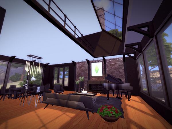 Svarta house NO CC by melcastro91 at TSR image 314 Sims 4 Updates