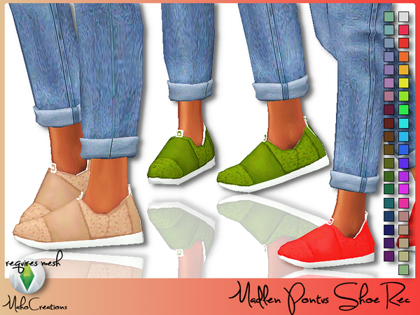 Madlen Pontus Shoes Recolor by MahoCreations at TSR image 316 Sims 4 Updates