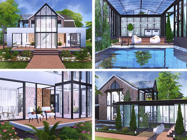Sims 4 Devon cozy home by Rirann at TSR
