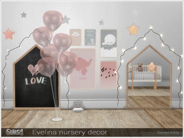 Evelina nursery decor by Severinka at TSR image 319 Sims 4 Updates
