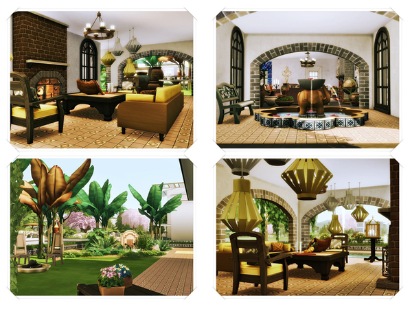 Hesta traditional home by marychabb at TSR image 320 Sims 4 Updates
