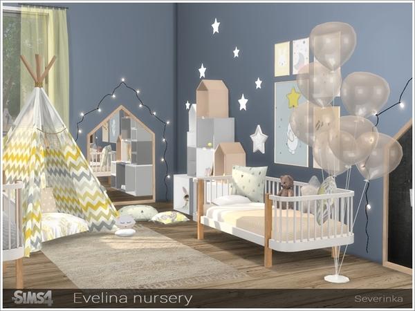 Evelina nursery by Severinka at TSR image 321 Sims 4 Updates