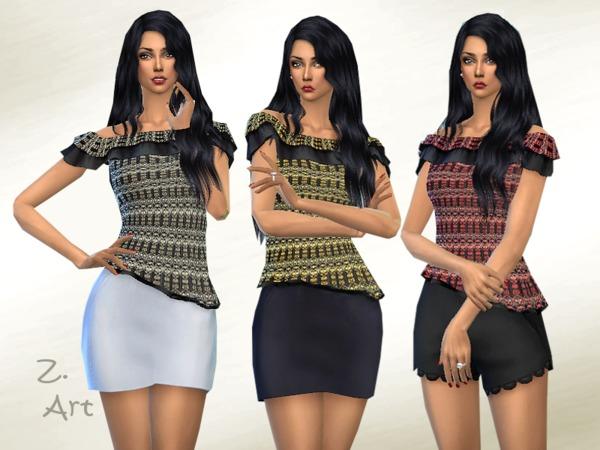 Sims 4 TopZ 02 by Zuckerschnute20 at TSR