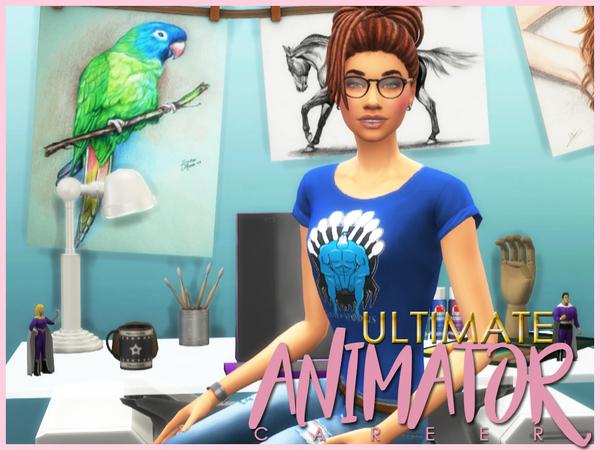 Ultimate Animator Career by asiashamecca at TSR image 3217 Sims 4 Updates