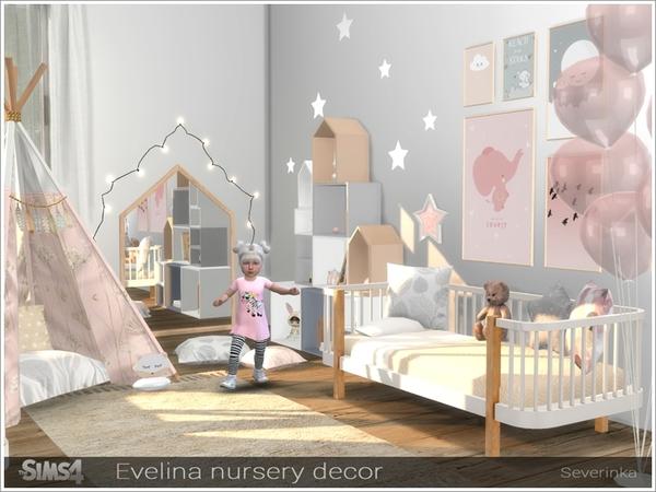 Evelina nursery decor by Severinka at TSR image 325 Sims 4 Updates