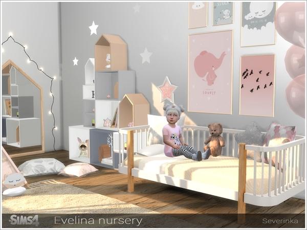 Evelina nursery by Severinka at TSR image 331 Sims 4 Updates