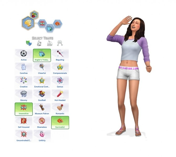 Sims 4 PATCH 100+ Traits Unlocked for CAS   ATICAS by tucatuc at Mod The Sims