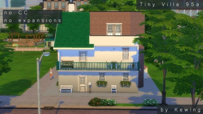 Sims 4 Tiny Villa 95a by kewing at Mod The Sims